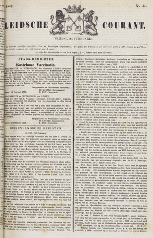 Leydse Courant 1882-02-24