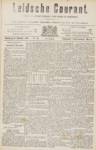 Leydse Courant 1889-01-21