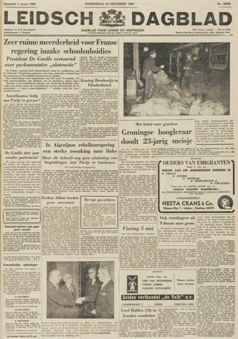 Leidsch Dagblad 1959-12-24