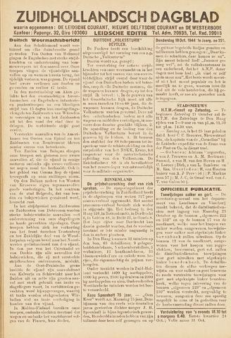 Zuidhollandsch Dagblad 1944-10-19