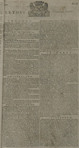 Leydse Courant 1729-10-26