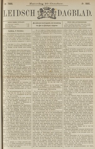Leidsch Dagblad 1885-10-10