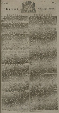 Leydse Courant 1739-04-15