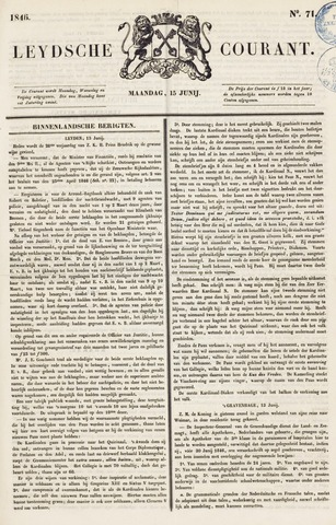 Leydse Courant 1846-06-15