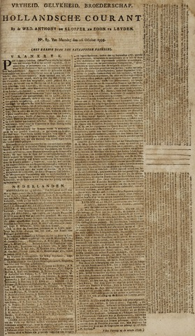 Leydse Courant 1795-10-28