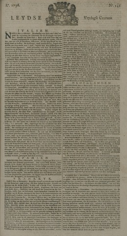 Leydse Courant 1736-11-23