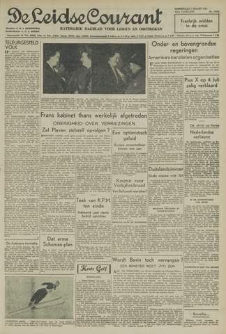 Leidse Courant 1951-03-01