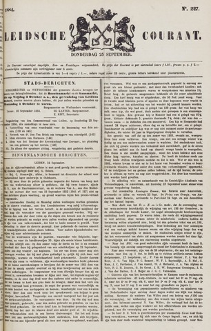 Leydse Courant 1884-09-25