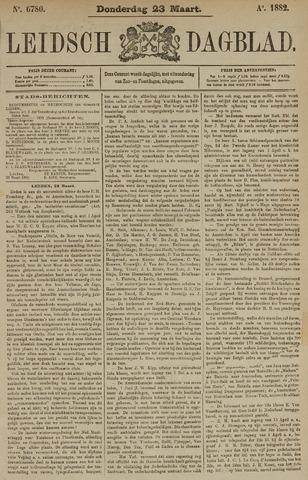 Leidsch Dagblad 1882-03-23