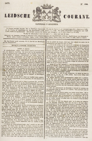 Leydse Courant 1873-08-09