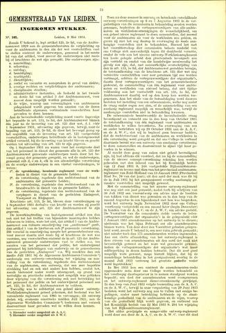 Handelingen van de Raad 1934-05-09