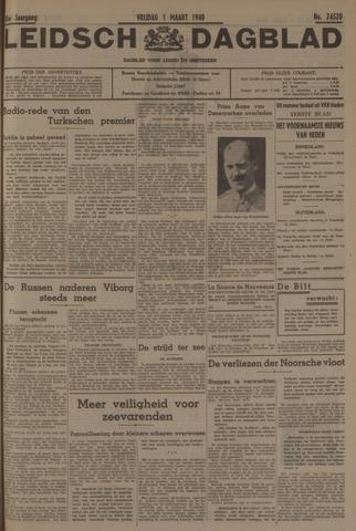 Leidsch Dagblad 1940-03-01