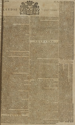 Leydse Courant 1770-05-25
