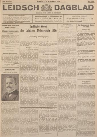 Leidsch Dagblad 1930-11-19