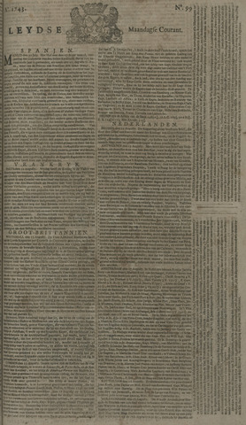 Leydse Courant 1743-08-19