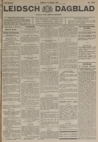 Leidsch Dagblad 1933-03-28