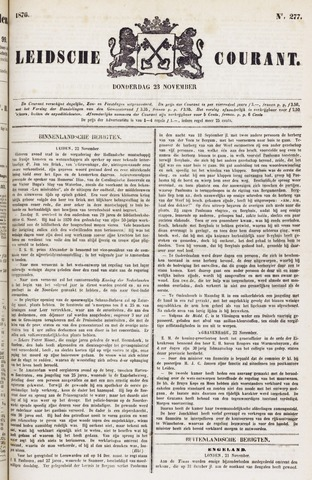 Leydse Courant 1876-11-23