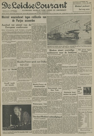 Leidse Courant 1954-11-22