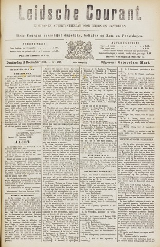 Leydse Courant 1889-12-19