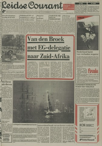Leidse Courant 1985-08-03