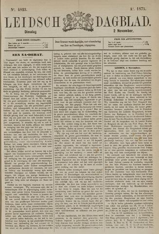 Leidsch Dagblad 1875-11-02