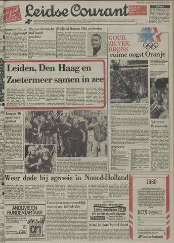 Leidse Courant 1984-08-06