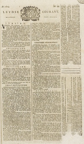 Leydse Courant 1814-03-07