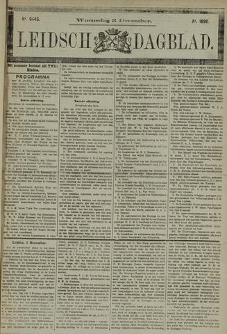Leidsch Dagblad 1890-12-03