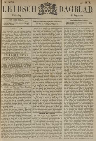 Leidsch Dagblad 1878-08-31