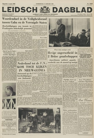 Leidsch Dagblad 1961-01-05