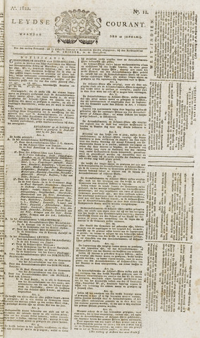 Leydse Courant 1822-01-28