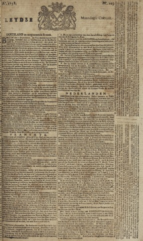 Leydse Courant 1758-09-11