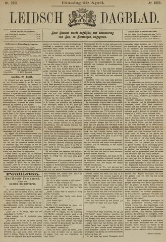 Leidsch Dagblad 1890-04-29