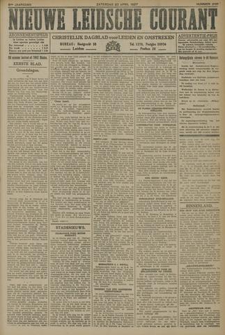 Nieuwe Leidsche Courant 1927-04-23