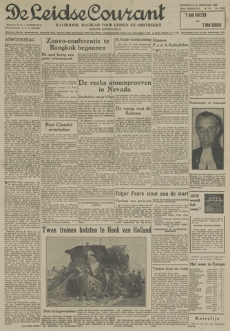 Leidse Courant 1955-02-23