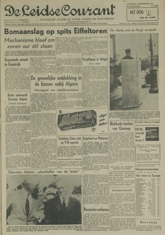 Leidse Courant 1958-09-24