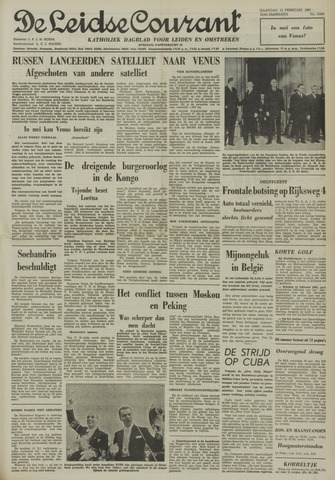 Leidse Courant 1961-02-13