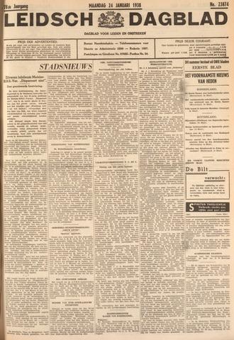 Leidsch Dagblad 1938-01-24