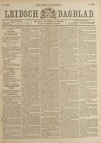 Leidsch Dagblad 1899-11-11