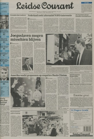 Leidse Courant 1992-08-21
