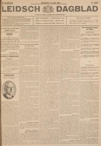 Leidsch Dagblad 1928-06-13