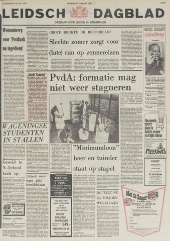 Leidsch Dagblad 1977-07-28