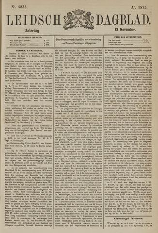 Leidsch Dagblad 1875-11-13