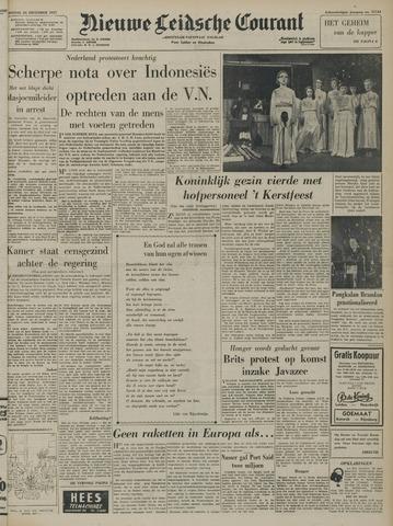 Nieuwe Leidsche Courant 1957-12-24