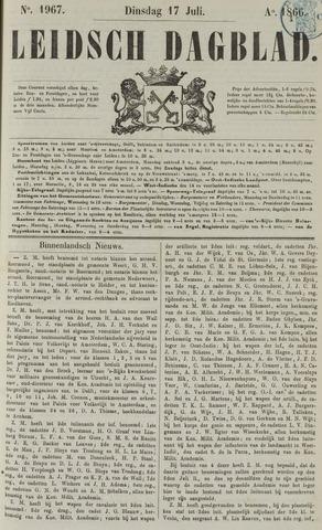 Leidsch Dagblad 1866-07-17