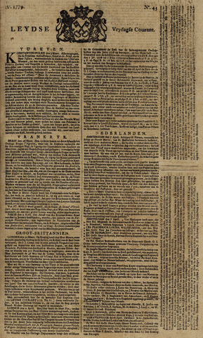 Leydse Courant 1779-04-09
