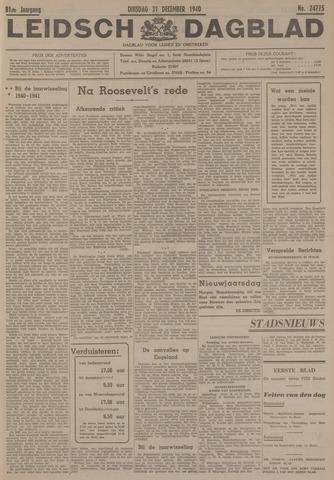 Leidsch Dagblad 1940-12-31