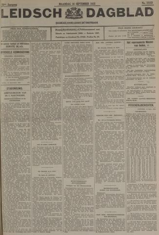 Leidsch Dagblad 1935-09-16