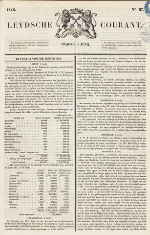 Leydse Courant 1846-06-05