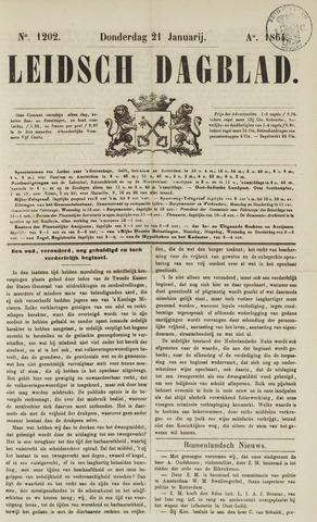 Leidsch Dagblad 1864-01-21